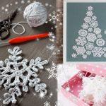 Снежинки крючком — схемы с описанием для начинающих