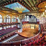 Роскошный дворец Каталонской музыки